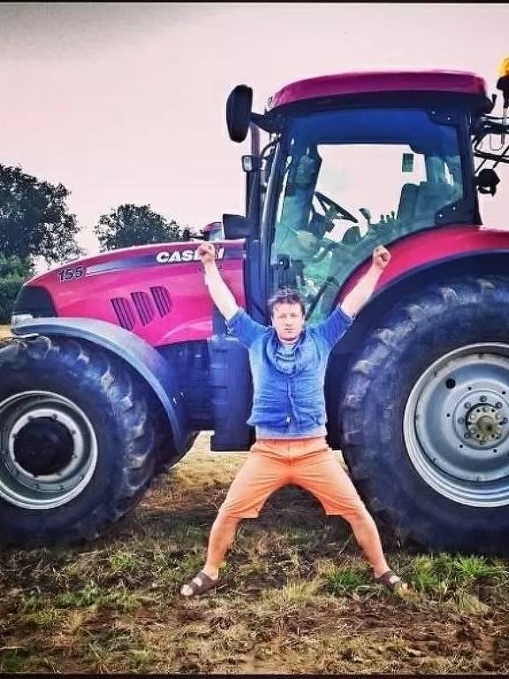 Jamie Oliver, chef inglês
