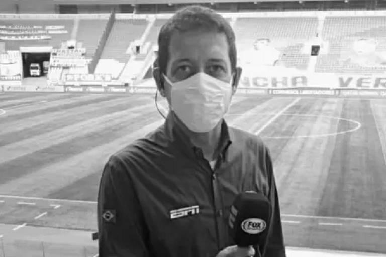 O jornalista Fernando Caetano