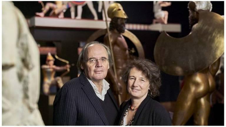 Vinzenz Brinkmann e sua esposa Ulrike Koch Brinkmann, reconstruíram mais de 60 estátuas