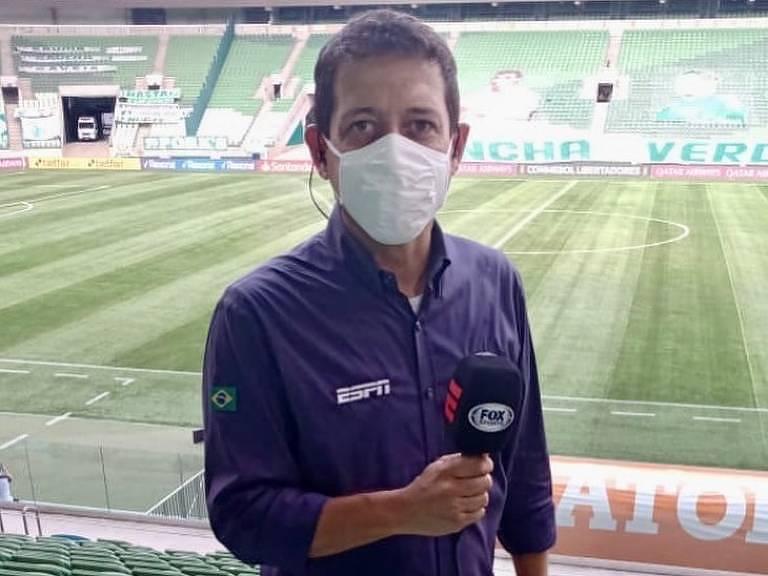 Fernando Caetano, repórter de esportes