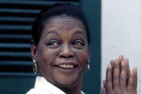 A atriz Ruth de Souza morreu aos 98 anos neste domingo, às 11h20, no Rio de Janeiro
