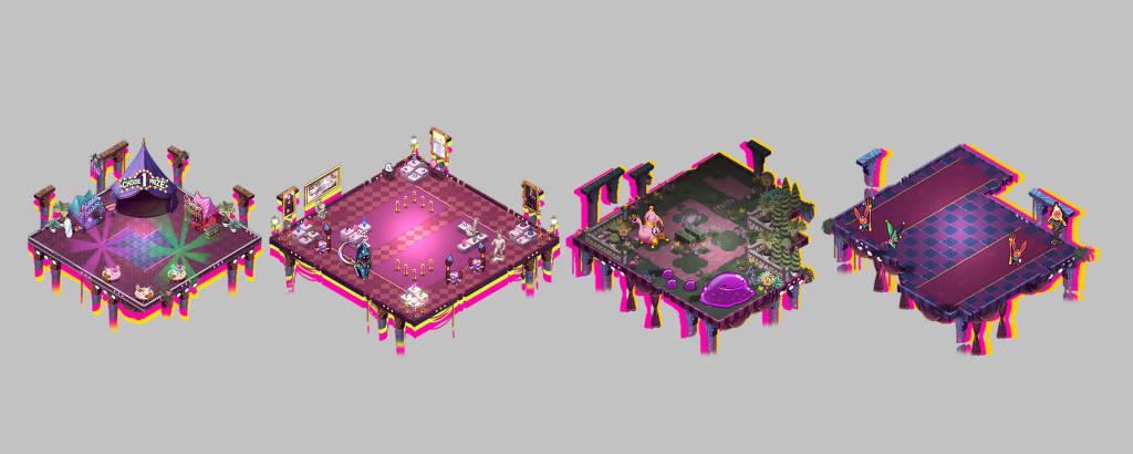 Em 'Dandy Ace', game brasileiro do estilo roguelike, cenários das fases são geradas de forma aleatórias