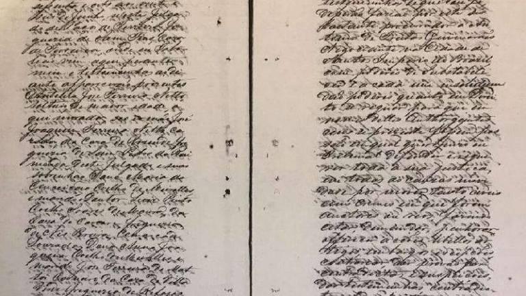 O processo tem mais de mil página e está armazenado no Arquivo Nacional