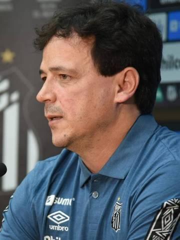 apresentação tecnico Fernando Diniz no Santos Foto: Ivan Storti/Santos FC