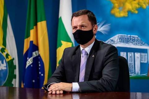 Ministro da Justiça, Anderson Gustavo Torres, delegado da Polícia Federal. (Foto: @@DelegadoAndersonTorres no facebook) ORG XMIT: IB8cl8-SPz6_TNmkG5Uk