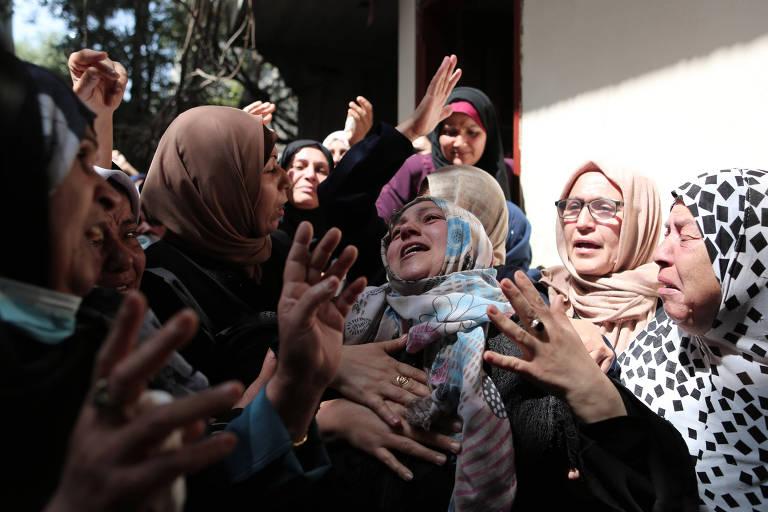 Palestinos rejeitam cobertura 'desumanizada' de confrontos com Israel