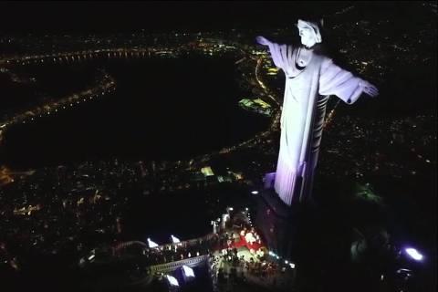 Missa de Sétimo Dia de Paulo Gustavo é realizada aos pés do Cristo Redentor
