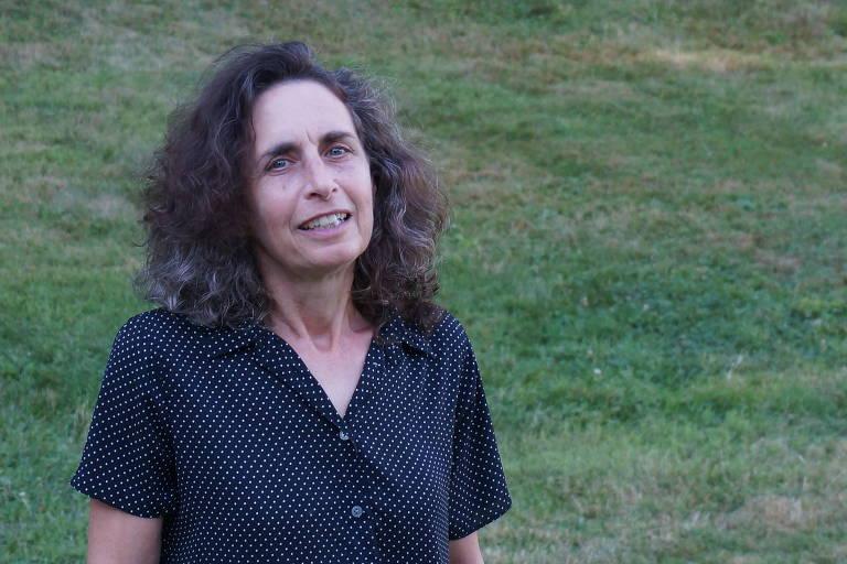 A autora Elizabeth Kolbert