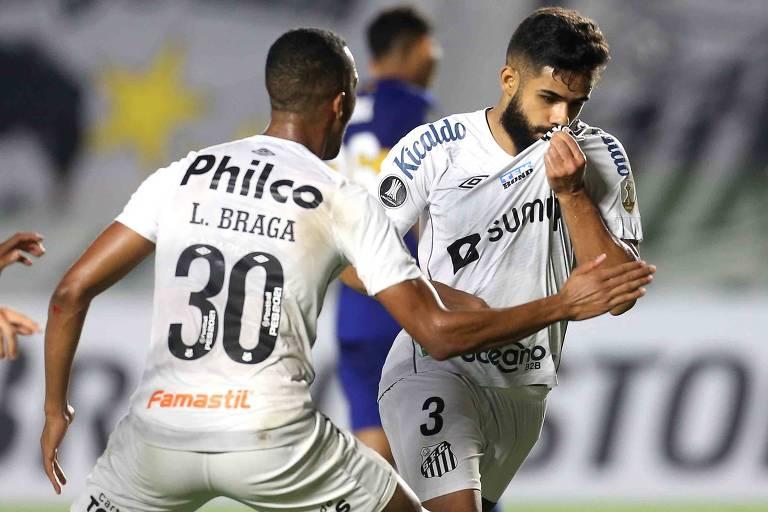 Santos vence o Boca Juniors na estreia de Fernando Diniz e renasce na Libertadores