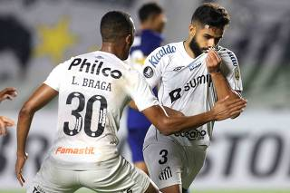 Copa Libertadores - Group C - Santos v Boca Juniors