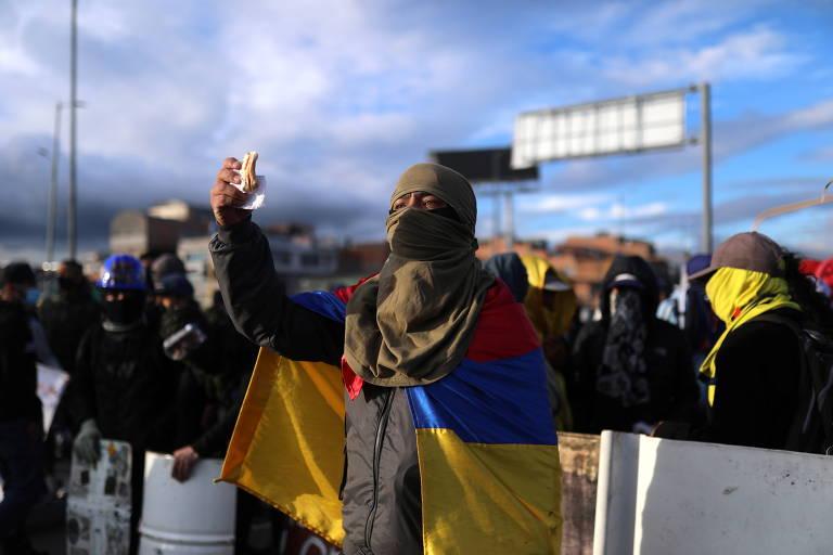 Reunião para colocar fim a protestos na Colômbia termina sem acordo