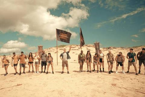 Primeiras fotos dos participantes na Praia Brava