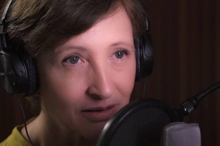 A repórter Sônia Bridi