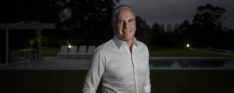 SÃO PAULO, SP, 24.04.2019: Retrato do empresário Roberto Justus, apresentador do programa