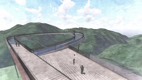 Skywalk do Petar, no Vale do Ribeira