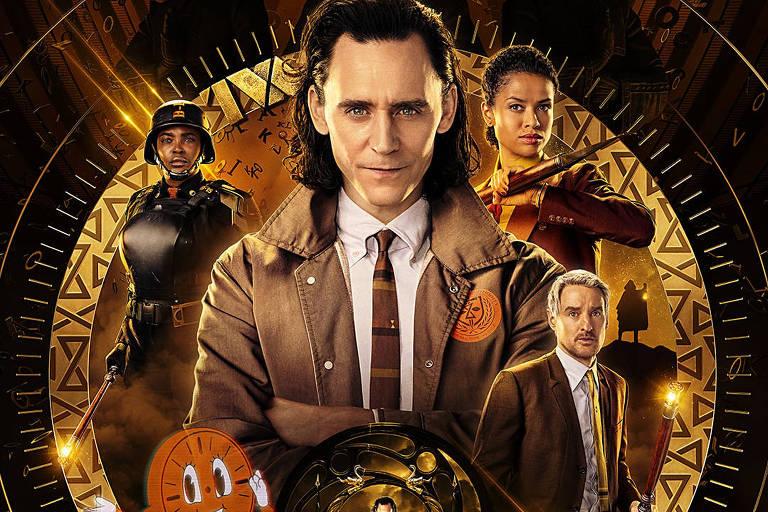 Poster da série 'Loki'