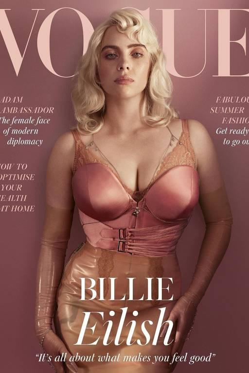 O ensaio de Billie Eilish na Vogue britânica