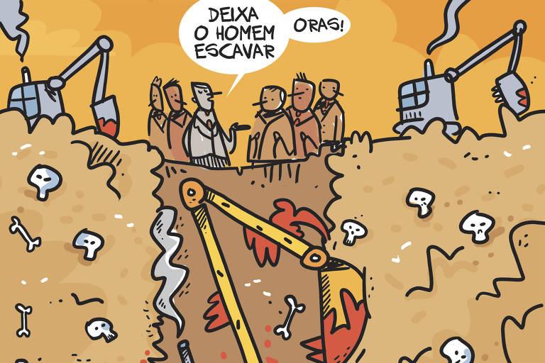 Bolsonaro cava um poço sem fundo para ter uma cova e enterrar o país