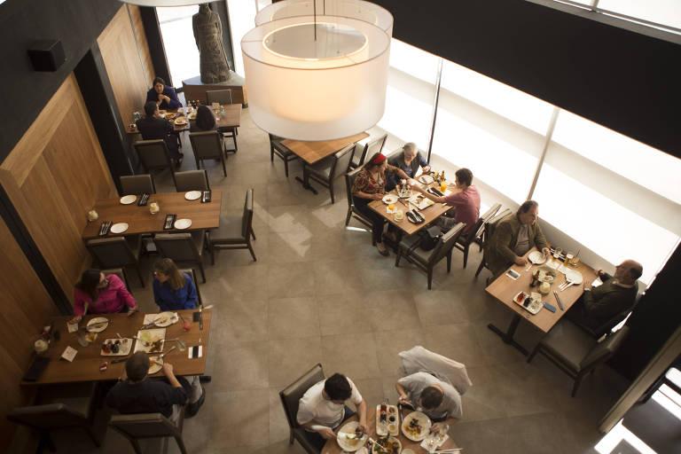 Antigo ambiente do P.F. Chang's, na Vila Nova Conceição, que deu lugar ao restaurante Camarões