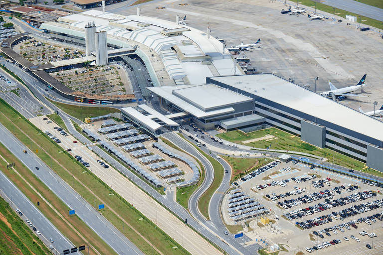 O Aeroporto Internacional de Belo Horizonte