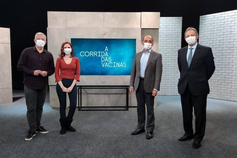 Série documental A Corrida das Vacinas