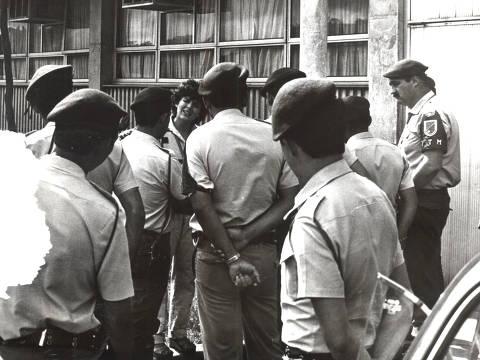 SAO PAULO, SP, 1970,  Assembleias estudantis da organização Liberdade e Luta (Libelu) na USP, na década de 1970 Crédito: Acervo O Trabalho