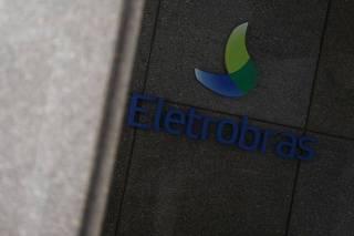 Logo da Eletrobras visto em instalações da companhia no Rio de Janeiro
