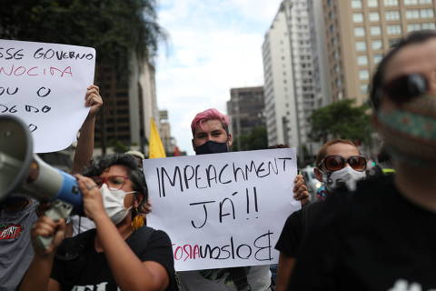 Datafolha: 49% apoiam impeachment de Bolsonaro, e 46% se dizem contrários