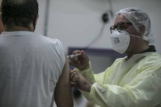 Vacinação de gripe em São Paulo