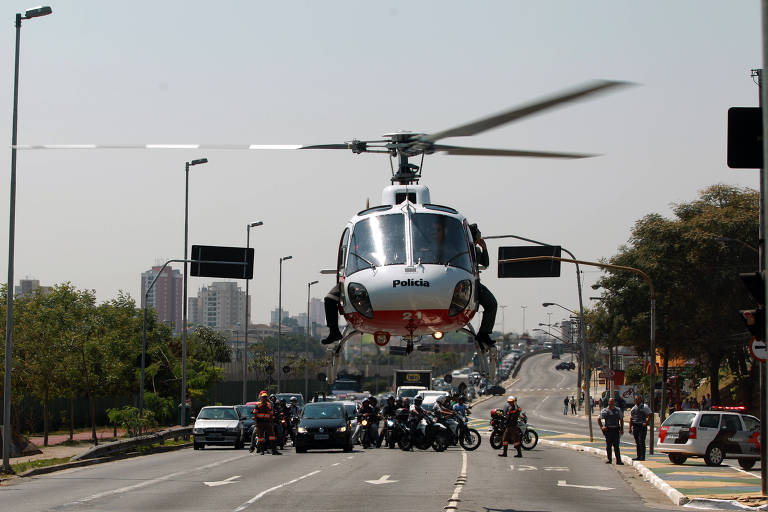 Governo de SP compra dois helicópteros para a Polícia Militar por R$ 57 milhões