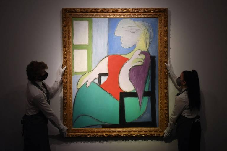 Pintura de Picasso é arrematada por US$ 103,4 milhões em leilão nos EUA