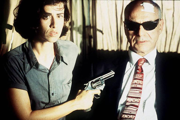 A atriz Fernanda Torres em cena do filme 'O Que É Isso, Companheiro?'
