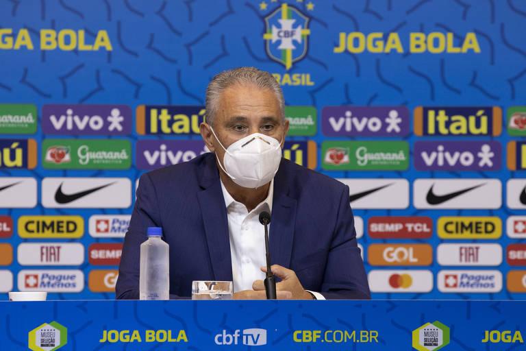 Tite convoca seleção para Eliminatórias com Daniel Alves de lateral