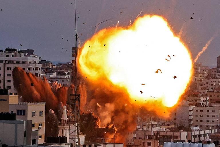 Quando mísseis israelenses atingem Gaza, não há para onde fugir