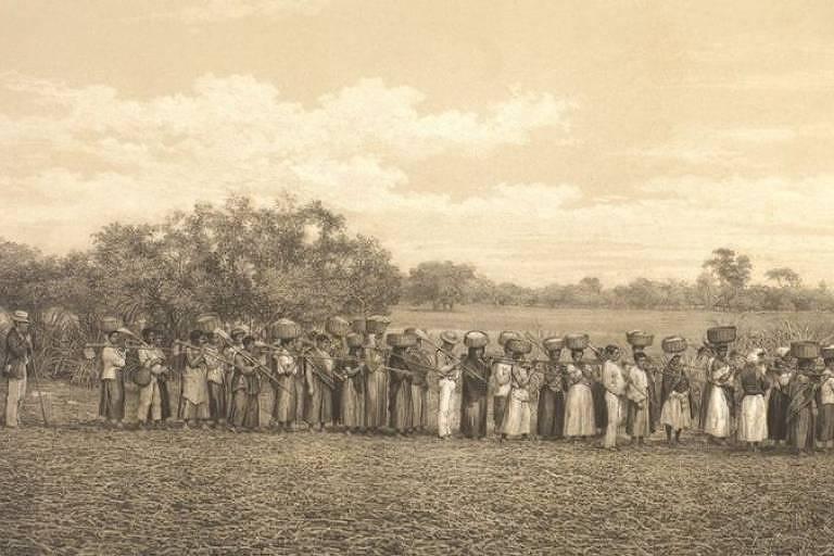 Mosteiros e conventos tinham pessoas escravizadas que eram obrigados a professar a fé católica, participando de missas, momentos de orações e recebendo os sacramentos