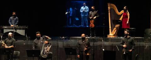 Concerto Espelho no Espelho, no Theatro São Pedro, em Sao Paulo  Crédito: Heloisa Bortz?