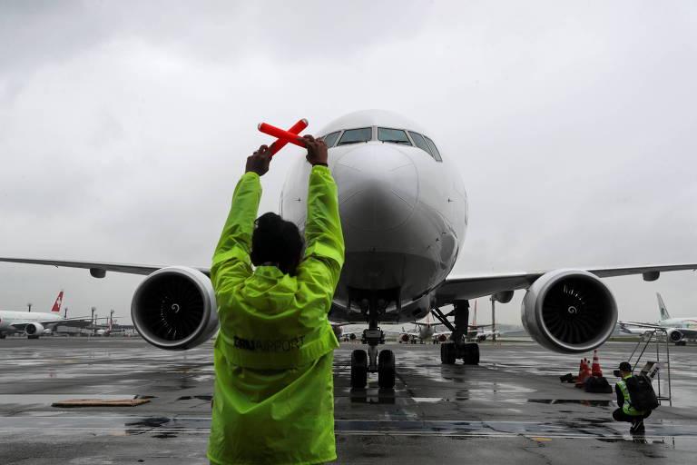 Brasil suspende voos de Índia, Reino Unido e África do Sul para evitar variante do coronavírus