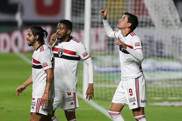 Pablo ainda não conta com a confiança da torcida, mas é o artilheiro do São Paulo na temporada