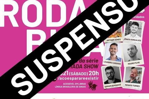 Live 'Roda Bixa' é cancelada pela prefeitura de Itajaí