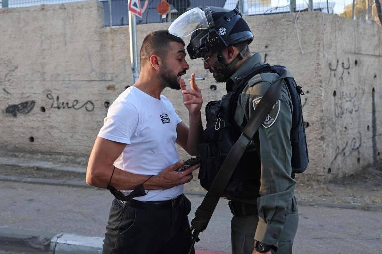 Mentiras nas redes sociais inflamam conflito israelense-palestino