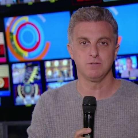 Luciano Huck fala sobre acidente com o filho, Benício, na abertura do Caldeirão