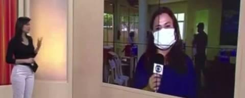 Jornalista anuncia demissão ao vivo