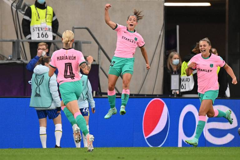 Barcelona goleia o Chelsea e conquista sua 1ª Champions League feminina