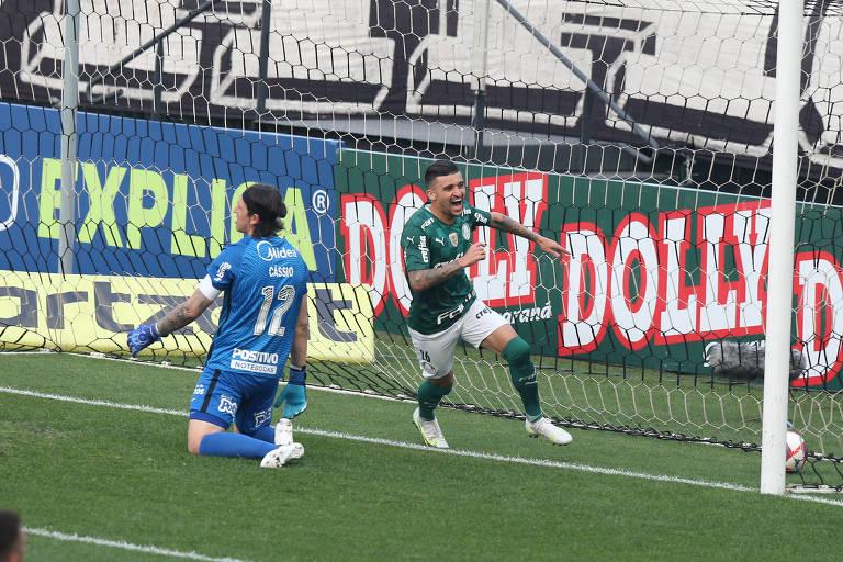 Palmeiras mostra força e alternativas táticas na semifinal do Paulista
