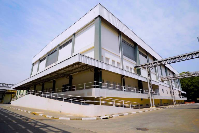 Obras da nova fábrica do Instituto Butantan