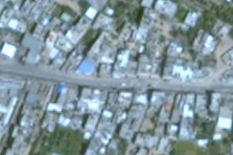 Por que Israel e Faixa de Gaza aparecem borrados em imagens de satélite do Google?