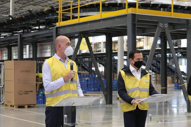 Mercado Livre anuncia investimento de R$ 4 bi em SP