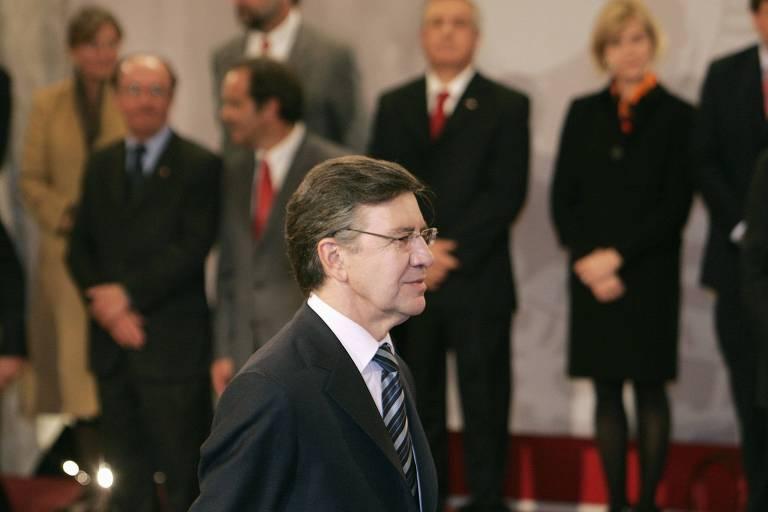 Joaquín Lavín durante cerimônia de posse no governo chileno, em Santiago