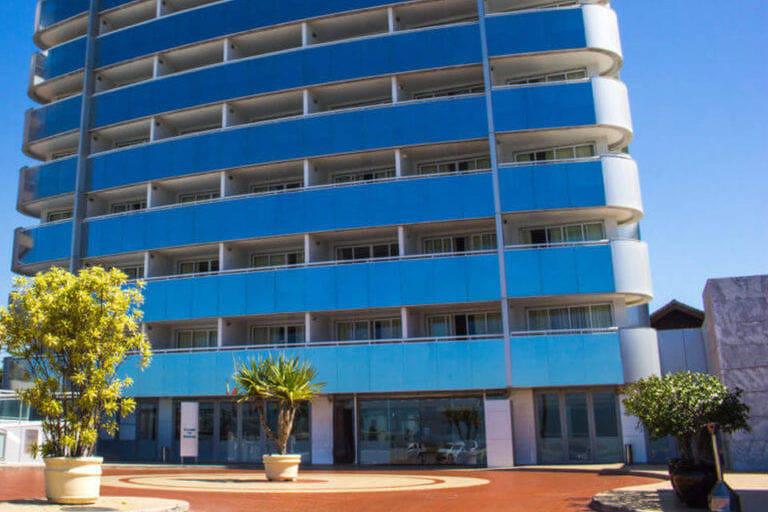 Fachada do Brisa Barra Hotel