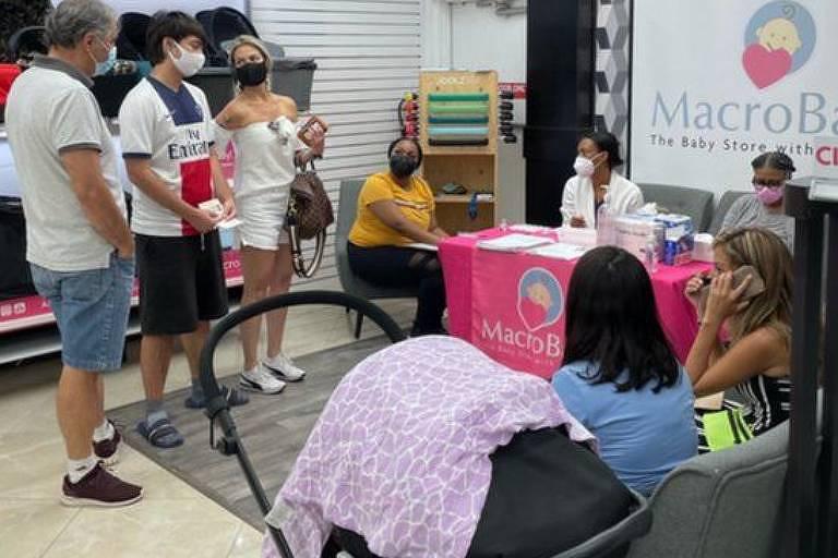A loja brasileira de artigos de bebê foi escolhida pelo governo da Flórida como ponto de vacinação para facilitar o acesso da comunidade do país aos imunizantes